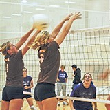 4 on 4 Volleyball